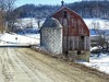 Backroads of Minnesota #600 (Backroads of America Images) Tags: barns red minnesota silo gravel roads country snow best