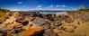 A rocky texture... (e0nn) Tags: hdpentaxdfa1530mmf28edsdmwr luminar pentax pentaxk1 steveselbyphotography steev steveselby tasmania visittasmania australia sun landscape