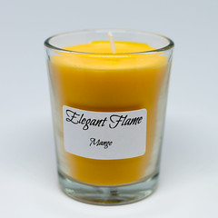 Mango Candle (D.Mills88) Tags: candle mango wax product lightbox