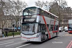 Reading Buses SK17HHC. (EYBusman) Tags: reading transport buses victoria london city centre westminster municipal bus coach wright street deck streetdeck micro hybrid demonstrator green line windsor legoland sk17hhc eybusman