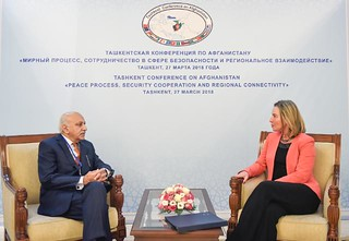 Visit by Federica Mogherini, Vice-President of the EC, to Uzbekistan, March 2018