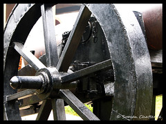 Canon Wheel, Residency, Lucknow (Suman Chatterjee) Tags: lucknow oudh awadh baraimambara hussainabad nawab rumidarwaza gomtiriver chotaimambara machchibhawan saadatkhan shujauddaula asafuddaula saadatalikhan wajidalishah residency sumanchatterjee