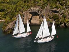 Sail Barbary (niceholidayphotos) Tags: taupo waikato newzealand nz