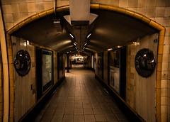 Atmosphere (Jonathan Vowles) Tags: dark artdeco tube station mirrors train