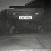 Found Film Photo (Delay Tactics) Tags: found film photo vauxhall viva 1256 txe 819l txe819l black white bw square car motor bricks number plate registration red vehicle repair vintage retro classic