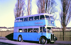 Slide 116-61 (Steve Guess) Tags: dagenham barking london essex england gb uk bus aec regent iii rt rt3232 kyy961 lrt regional transport