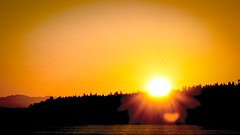 Sunrise (jschust86) Tags: sun set rise water puget sound pacific north west rays pnw northwest