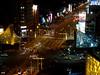 美麗島捷運站 (William Chen1) Tags: taiwan 美麗島捷運站 美麗島 捷運站 mrt 紅線 橘線 路 十字路口 交叉 night light 車軌