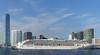 SuperStar Virgo.  Hong Kong. (Bernard Spragg) Tags: superstarvirgo cruise vessels passangerships lumix asia harbour port