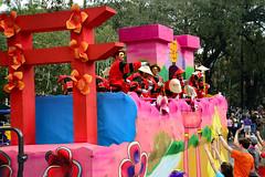 Okeanos Float #14 - Japan (BKHagar *Kim*) Tags: bkhagar mardigras neworleans nola la parade celebration people crowd beads outdoor street napoleon uptown okeanos kreweofokeanos float travel japan