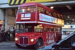 RM1204 @ Victoria coach station (ianjpoole) Tags: bbakery tea bus aec routemaster 204clt rm1204 london victoria coach station