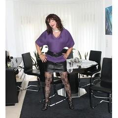 It´s time to post again! (ailananata) Tags: tgirl transvestit transgender tranny trap shemale sexy slutty stockings leather crossdresser curvy cfmshoes cleavage sandalds cd miniskirt milf belt brunette
