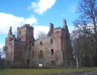 Redcastle(Ruin), Black Isle, March 2018