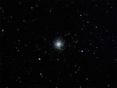 Hercules Cluster (M13) (bencbright) Tags: hercules cluster star astrophoto night longexposure canonsx60 sx60 m13 ioptron skytracker deep sky object