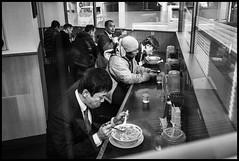 Ebisu-Minami, Shibuya-ku, Tōkyō-to (GioMagPhotographer) Tags: ebisuminami peoplegroup shibuyaku eastofthesun tōkyōto leicamonochrom japanproject japan dining tokyo tkyto