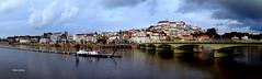 Cidade de Coimbra (verridário) Tags: river mondego coimbra city ville cidade urban ponte bridge rio water céu sky nuvens clouds nuages panorama sony town