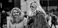 Distance between us! (Baz 120) Tags: candid candidportrait city contrast rome monochrome blackandwhite life portrait italy street streetphotography faces sony