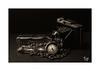 Zeitlos (Fujigraf) Tags: time zeit still stehen camera adox fuji xt20 xf56mm bohnen glas licht zeiger