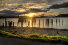 titlow beach park (wileygerald) Tags: sunset titlow tacoma