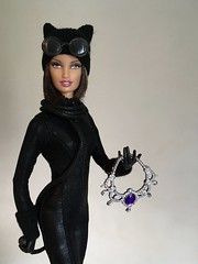 Kitty Kitty (MaxxieJames) Tags: catwoman selina kyle dc dcu batman mattel barbie custom doll dolls collector wip
