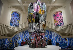Takashi Murakami: The Octopus Eats Its Own Leg (Clayton Perry Photoworks) Tags: vancouver bc canada artgallery vag takashimurakamitheoctopuseatsitsownleg takashimurakami art sculpture
