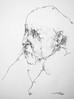 P1018029 (Gasheh) Tags: art painting drawing sketch portrait man line pen charcoal armenoid gasheh 2018