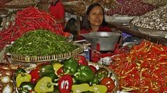 "INDONESIEN, Java, Auf dem Gewürzmarkt in Yogyakarta, 17325/9867 (roba66) Tags: reisen travel explorevoyages urlaub visit roba66 asien südostasien asia eartasia ""southeastasia"" indonesien indonesia ""republikindonesien"" ""republicofindonesia"" indonesiearchipelago inselstaat java yogyakarta market markt gemüse frau woman"