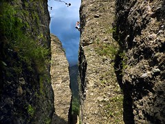 Perhaps I Might Start Looking Forward To Summer ;-) (Daphne-8) Tags: rockclimbing rock guillestre ruedesmasques climber klettern felsen sommer summer montdauphin france frankreich