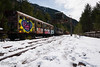 vagón abandonado (Frankymiller) Tags: canfrancestación konicaminoltadt1118mmf4556 pasques pirineus2018 sonya700 valledetena estación nieve trenabandonado vagón