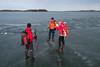 Ränna på Dansarfjärden (David Thyberg) Tags: 2018 långfärdsskridsko winter nature skate sweden stockholm skating ice sverige