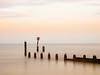Southwold, Suffolk (ceeko) Tags: 2012 england olympuse3 southwold suffolk groyne minimalist sea unitedkingdom sky blackheadedgulls