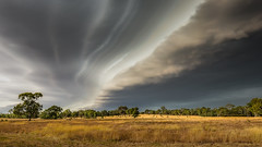 Approaching storm (Chas56) Tags: storm clouds sky landscape victoria australia rural paddock farm countryside trees hills canon canon5dmkiii ngc cloudsstormssunsetssunrises