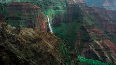 Hawaii USA- Kauai  Island - Waimea Canyon State Park. Opaekaa Falls (Feridun F. Alkaya) Tags: kauai kauaiisland usa hawaii waimeacanyonstatepark waimea waimeacanyon hawaiiisland ngc