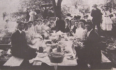 Methodist Church Picnic - 1915 (Brett Streutker) Tags: lutheran methodist episcopal assemblies apostolic fundamentalist nostalgia antique school religion time old israeli israel palastine joseph mary diciples apostles samaria jerusalem bethlehem brirth passover christmas herod thus version international standard american new james king moody seminary conference epistles gospels john enemy devil satan antichrist son tribulation revelation study verse psalm tent meeting gospel evangelical saved again born jehovah yahweh god rapture scriptures bible he made creationism creation science jesus creator christ easter 2017 stars
