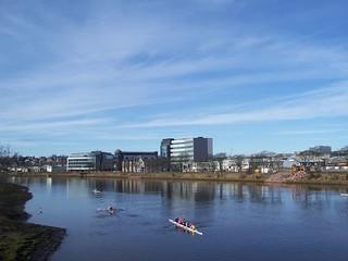 Rowers, River Dee, Aberdeen, Mar 2018