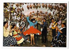 España típica [Material gráfico no proyectable] : baile gitano en una cueva= Dance de Bohémiens dans la caverne= Dance of gipsies in the cave= Zingeunertanz in der Höhle. (Centro de Estudios de Castilla-La Mancha (UCLM)) Tags: españa spain baile flamenco flamencodancing tarjetaspostales postcards