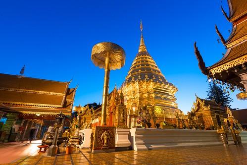 Chiang Mai - Wat Phrathat (Doi Suthep)