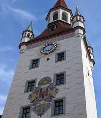 Clock tower (jrw080578) Tags: clocktower germany deutschland munich münchen rathaus bavaria bayern
