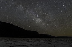 Milky Way at Badwater Basin (rob_luna) Tags: milky way photography astrophotography sony a6500 sigma 16mm 14 death valley badwater basin salt california desert stars starry night shooting sky mountain colorful galactic center landscape nights astro stacker