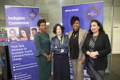 DSC_1595 (photographer695) Tags: inclusion convention institutional sexual harassment powered by the telegraph with jacqueline onalo dr shola mos shogbamimu gulrukh khan jane garvey bbc 4 womans hour presenter