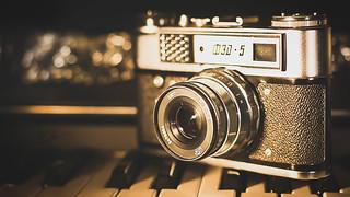 Oldtimer Kamera