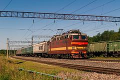 ЧС4Т-309 (logica.bs) Tags: чс4т309 сев сжд жд транссиб лопарево станция поезд лето 2012