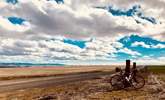 Big sky ride (Doug Goodenough) Tags: bicycle bike cycle pedals spokes trek checkpoing sl5 sl 5 carbon fiber gravel grinding clarkston washington ride 2018 march spring 18 sun clouds big sky drg531 drg53118 drg53118p