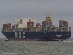 MSC Beatrice 03 (U. Heinze) Tags: cuxhaven olympus elbe nordsee ship schiff vessel boot
