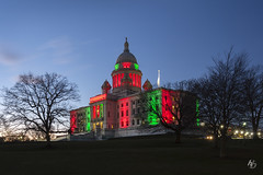 RI State House | February 2018 (@archphotographr) Tags: ©hassanbagheri ©hbarchitecturalphotography archphotographr architecture canoneos5dmarkiii ef1635mmf28liiusm february us newengland rhodeisland providence rhodeislandstatehouse mckimmeadwhite ristatehouse 2018 winter panafricanflag panafrican blackhistorymonth celebration