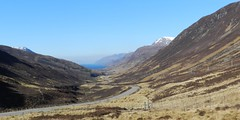 Loch Maree Viewpoint, Glen Docherty, Highlands of Scotland, Mar 2018 (allanmaciver) Tags: loch maree viewpoint scotland highlands snow moor height road route sun warm day march allanmaciver