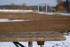 HolzHackerLigaBank (H. Eisenreich) Tags: eisenreich hans fujifilm xt1 kreisliga futbol goal tor bierbank football eintracht spielfeld soccer fussball bokeh schmidmühlen bank fusball