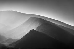 Misty tops II (ilias varelas) Tags: mood mono monochrome mist mountain nature light landscape land varelas greece atmosphere tops blackandwhite bw black exposure