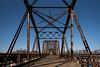 bridge (fallsroad) Tags: muskogeeoklahoma bridge abandoned decay ok16 vintage steel truss rust rusted rusty sky