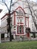 Red and white house, Veliko Tarnovo Ulica, Plovdiv, Bulgaria (Paul McClure DC) Tags: plovdiv bulgaria balkans пловдив българия feb2018 historic architecture